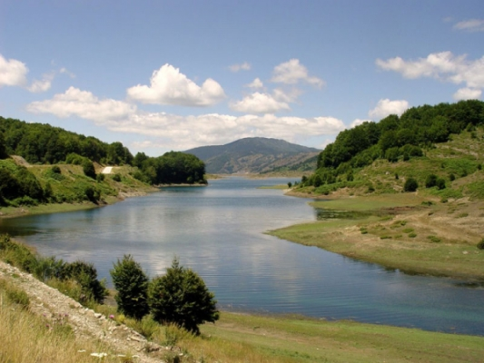 Artificial Lake of Aoos